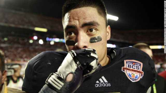 Notre Dame: Te'o caught in 'Catfish' scam