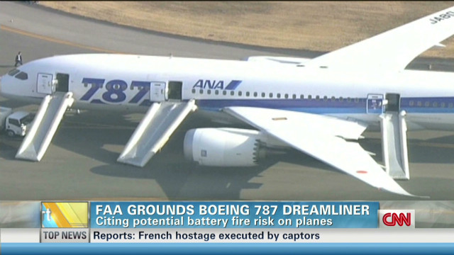 Why the FAA grounded Dreamliner