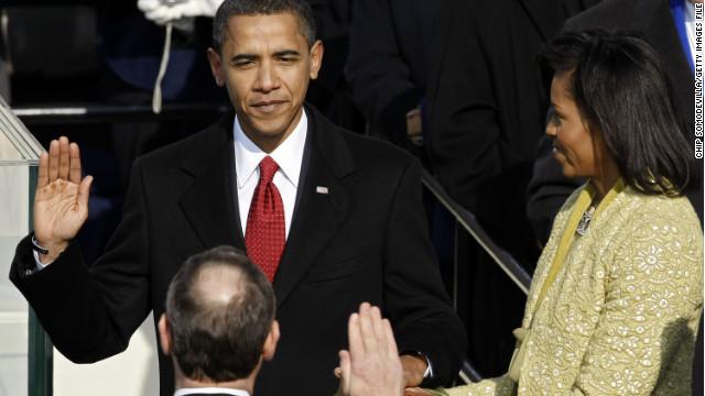2009: Obama's historic inauguration