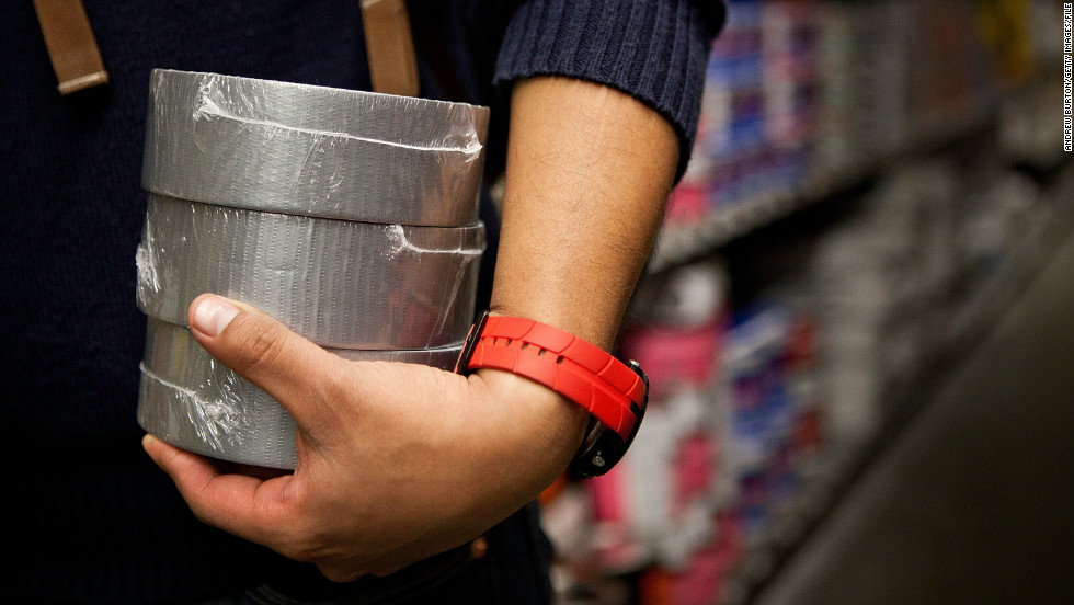 The versatile tape was developed during World War II by Permacel (a former division of the Johnson and Johnson company). The polyethylene-coated cloth enabled soldiers to make running repairs to equipment. As popular as ever, duct tape is still offering a flexible, durable and waterproof DIY solution to many a problem at work and in the home.