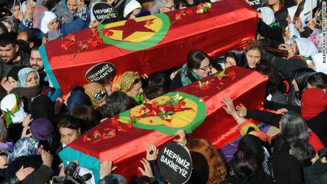 Kurds in Turkey appeal for peace