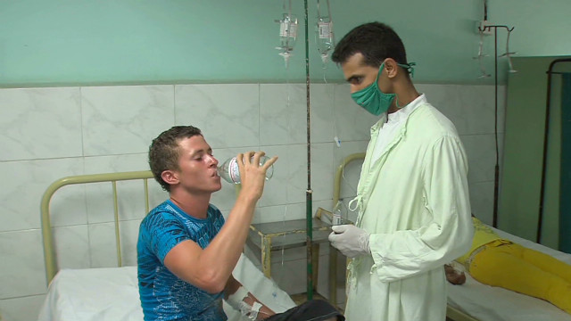 Fear Cuban tourists will spread cholera