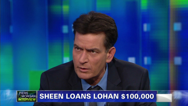 Charlie Sheen on Lindsay Lohan