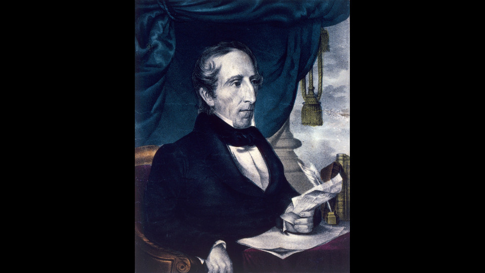 John Tyler took the oath of office on April 6, 1841, after the death of William Henry Harrison, who died after just 32 days in office.