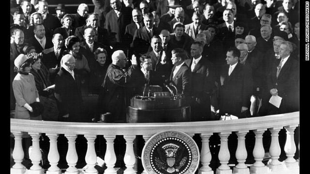John F. Kennedy, 1961