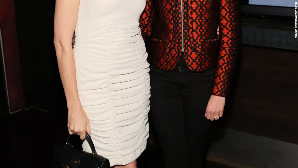 Kelly Rutherford and Nikki Reed attend an event in New York City.