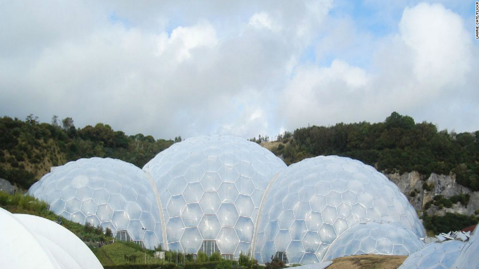 "Taking nearly six years between concept and opening, the ambitious <a href=""http://www.edenproject.com  "" target=""_blank"">Eden Project</a> opened to the public in March 2001. The attraction features two immense plastic and steel enclosures that emulate natural biomes and house thousands of plant species. <br /><br />In the last decade, the complex has hosted concerts, marathons and weddings. The addition of a sustainable education center, a giant ""robot"" made from scrap electronics and, more recently, a ""rainforest lookout"" aerial tower, have all contributed to Eden's popularity.  <br />(Image: Courtesy Lawrie Cate)"