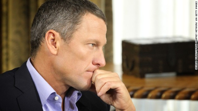 "AUSTIN, TX - JANUARY 14:  In this handout photo provided by the Oprah Winfrey Network, Oprah Winfrey (not pictured) speaks with Lance Armstrong during an interview regarding the controversy surrounding his cycling career January 14, 2013 in Austin, Texas.  Oprah Winfrey?s exclusive no-holds-barred interview with Lance Armstrong, ""Oprah and Lance Armstrong: The Worldwide Exclusive,"" has expanded to air as a two-night event on OWN: Oprah Winfrey Network.  The special episode of ""Oprah?s Next Chapter"" will air Thursday, January 17 from 9-10:30 p.m. ET/PT (as previously announced) and Friday, January 18 at 9 p.m. ET/PT. The interview will be simultaneously streamed LIVE worldwide both nights on Oprah.com.  (Photo by George Burns/Oprah Winfrey Network via Getty Images)"