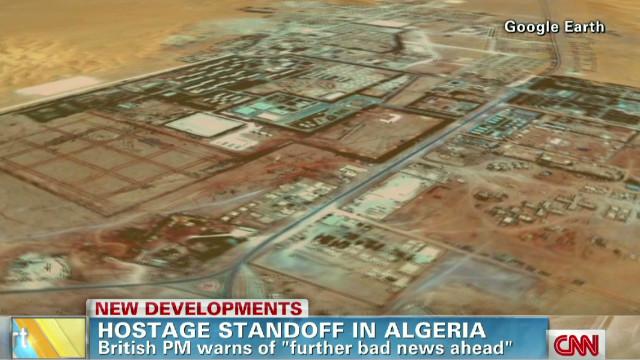 Hostage standoff in Algeria