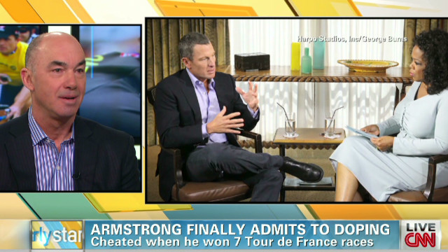 Analyst: Armstrong mea culpa 'brave'