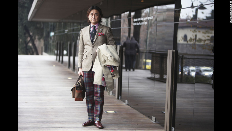 """""""You could wear this on the weekend and not look too traditional or old fashioned,"""" says Jim Moore, creative director of American menswear publication GQ."""