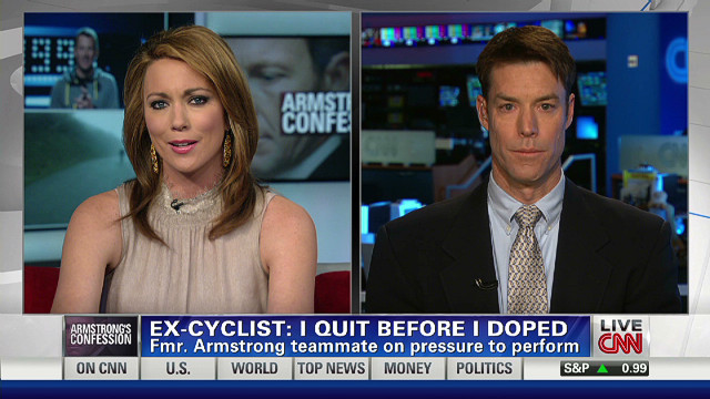 Ex-cyclist: I quit before I doped