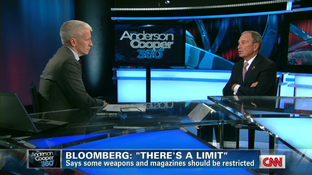 Bloomberg on guns: 'There's a limit'