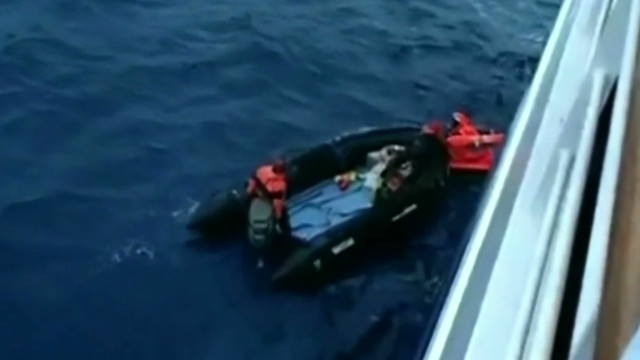 Cruise ship helps rescue sailor
