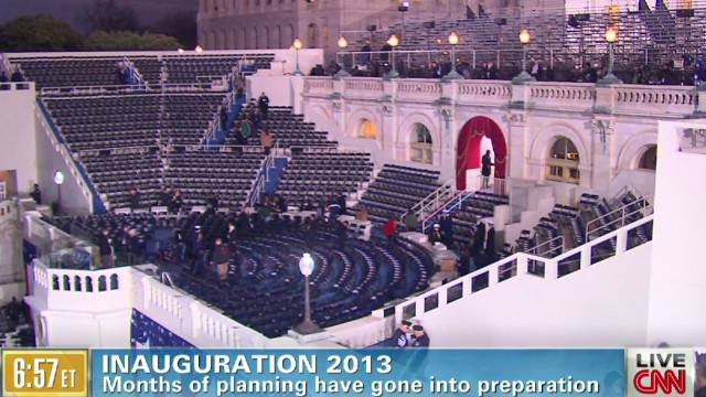 Preparing for an inauguration