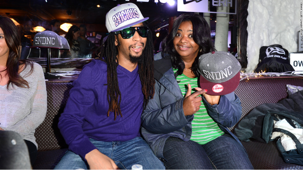 Rapper Lil Jon joins actress Octavia Spencer.