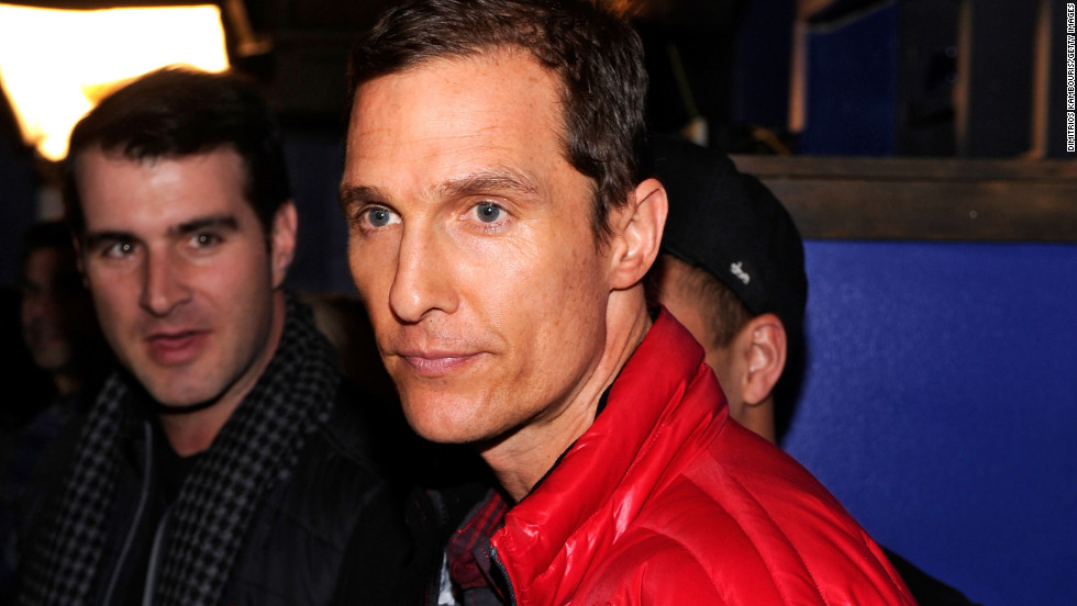 Matthew McConaughey at Village at the Lift.