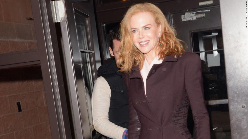"""Nicole Kidman attends the """"Stoker"""" premiere."""