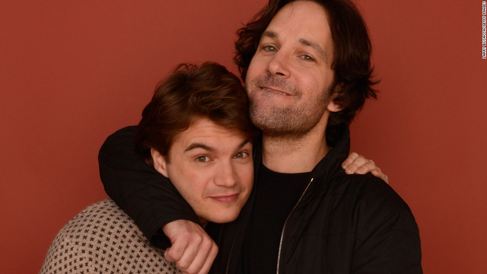 Emile Hirsch, left, and Paul Rudd at Village at the Lift.