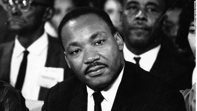 The Rev. Martin Luther King Jr. is pictured here in September 1964.