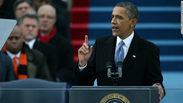 President Obama's full inaugural address