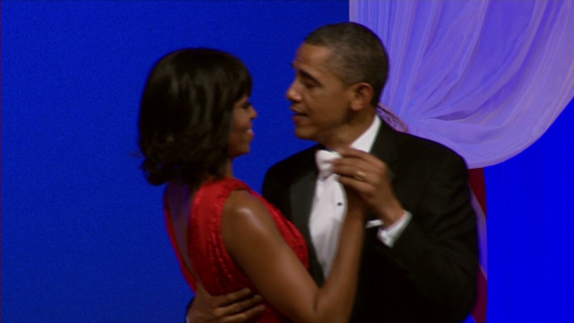 Barack and Michelle's inaugural dance