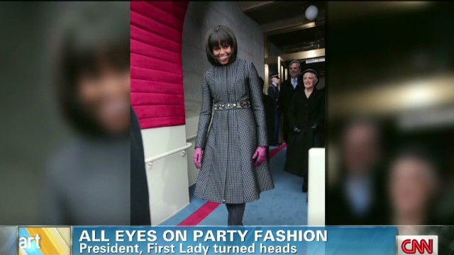 All eyes on inauguration fashion