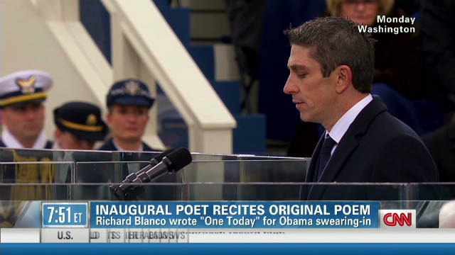 Poet makes history at Obama inauguration