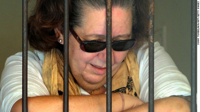 Prosecutors said Lindsay Sandiford was found to have blocks of cocaine in her suitcase when she arrived in Bali in 2012.
