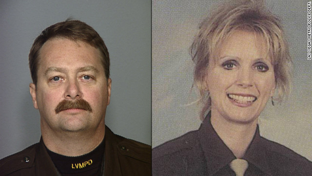 Lt. Hans Walters and his wife, former officer Michelle Walters.