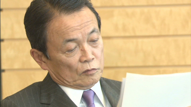 2013: Japan deputy PM in 'die quickly' blunder