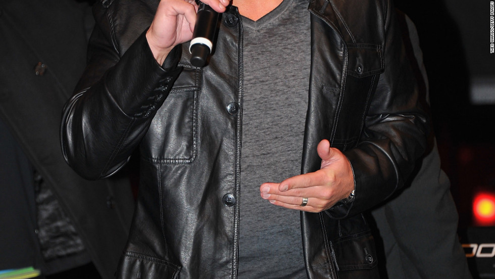 Nick Lachey performs in New York City.