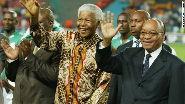 "Jacob Zuma: Nelson Mandela's ""tireless struggle for freedom earned him the respect of the world."""