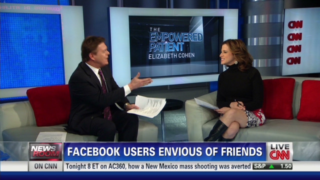 Facebook users envious of friends