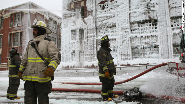 States suffer through freezing temps