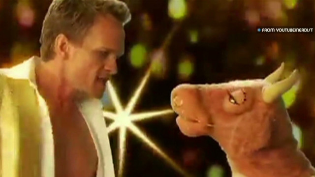Neil Patrick Harris dreams in puppet