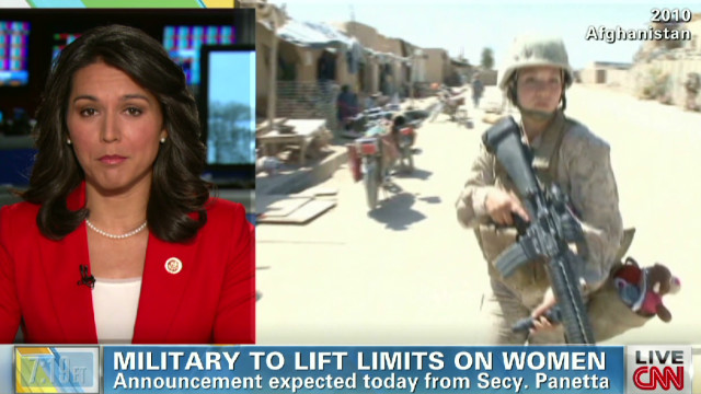 Gabbard: Pentagon decision 'major step'