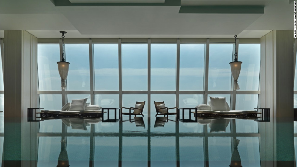 The Park Hyatt Shanghai is no longer the world's highest hotel, but it's still a memorable stay.