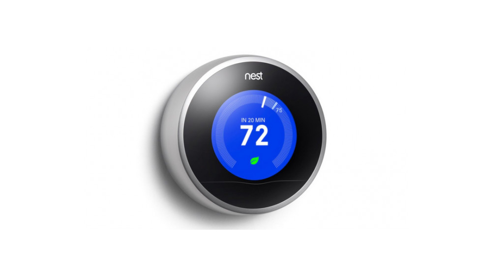 Nest, the smart thermostat that learns from you, can be programmed to align with your schedule.