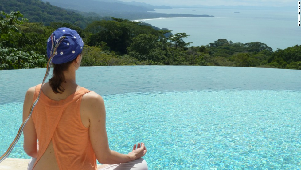 "You can get some ""neurofeedback"" at Transformational Retreats in Costa Rica."