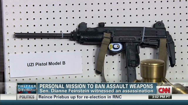 Personal mission to ban assault weapons