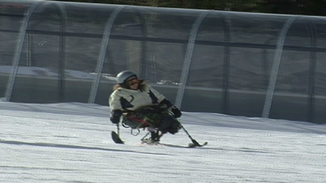 Resort gives disabled chance to ski