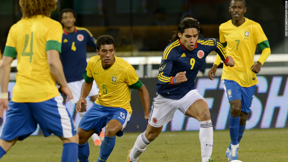 Falcao hopes to lead the line for Colombia at the 2014 World Cup in Brazil. His nation has not appeared at the finals since 1998 but holds the third of four automatic qualifying places in the South American group.