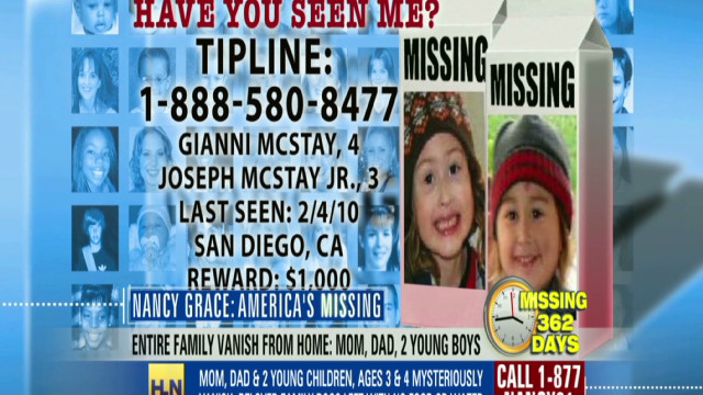 2011: The missing McStay family case