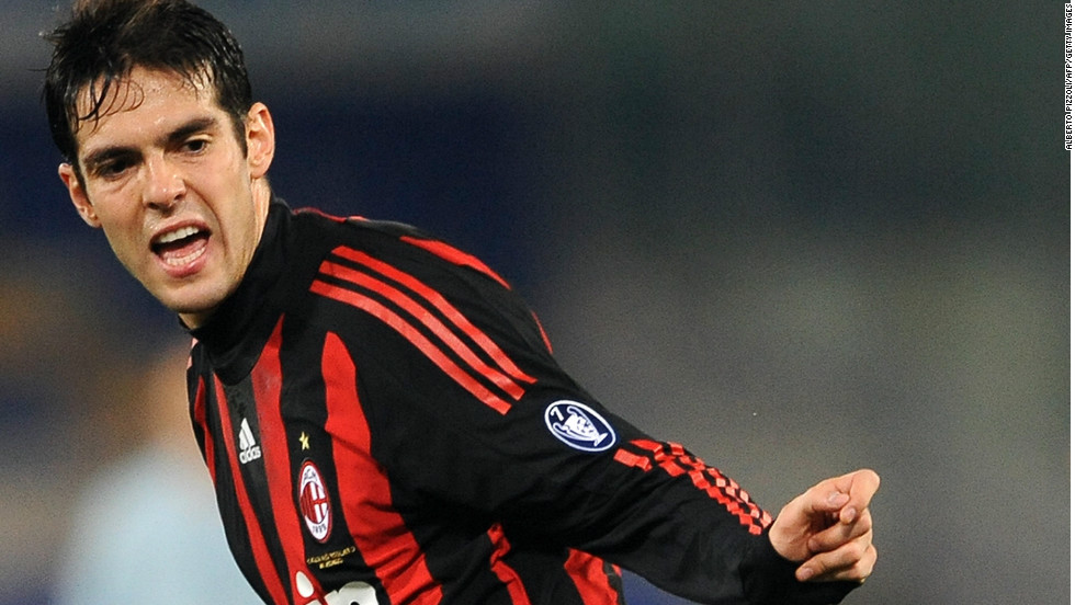 Kaka's move back to AC Milan, where he played his best football to date, is becoming more and more unlikely. Too bad considering he doesn't get many minutes at Real Madrid...Would love to see him back in those red and black stripes.