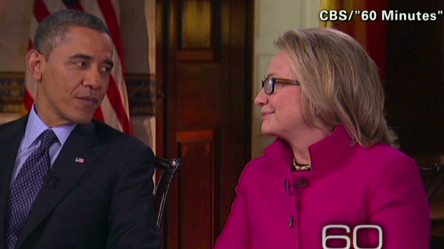 Obama, Clinton explain joint interview