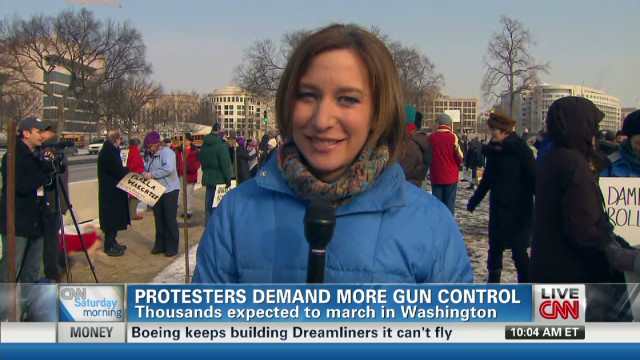 Rally in DC demands more gun control