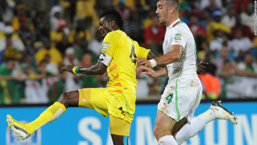 Emmanuel Adebayor helped Togo bounce back from that 2-1 defeat as the Sparrowhawks' captain scored in a 2-0 win against Algeria which put the Ivorians into the quarterfinals and eliminated the north Africans with one match still to play.