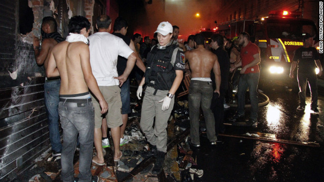 Deadly fire sweeps through Brazil club