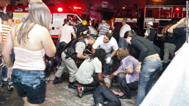 Deadly nightclub fire in Brazil